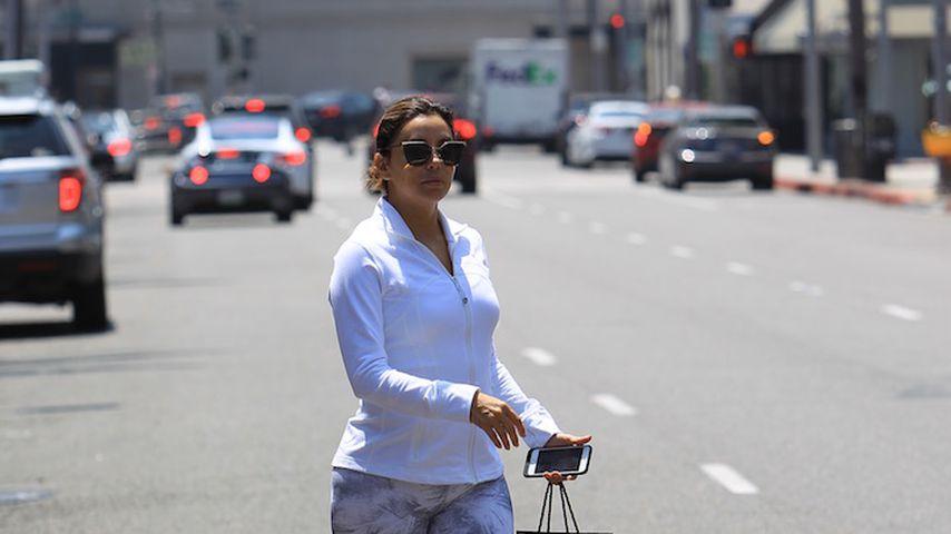 Eva Longoria unterwegs zum Anastasia salon in Beverly Hills