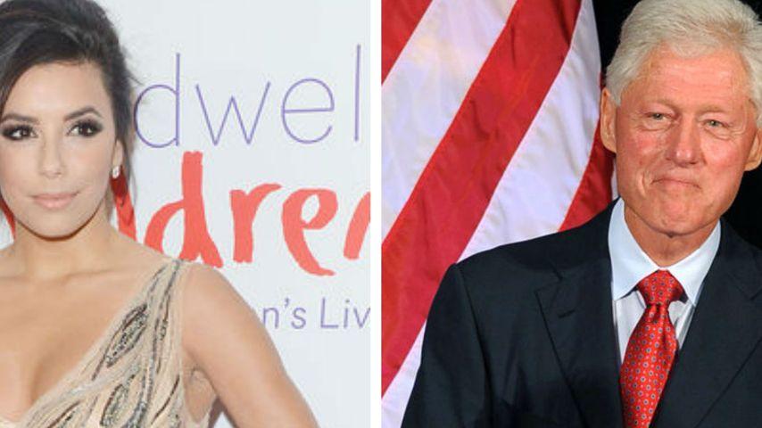 Bill Clinton sendet M.A. Eva Longoria Glückwünsche