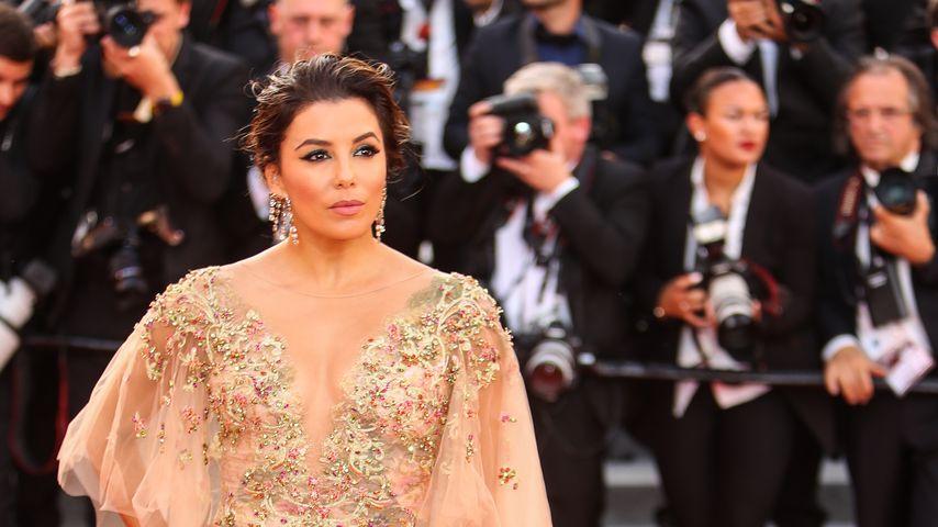 Krasses Workout! Eva Longoria und die Treppen von Cannes