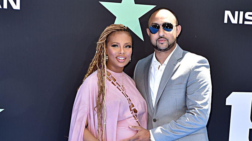 Eva Marcille und Michael Sterling bei den BET Awards 2019