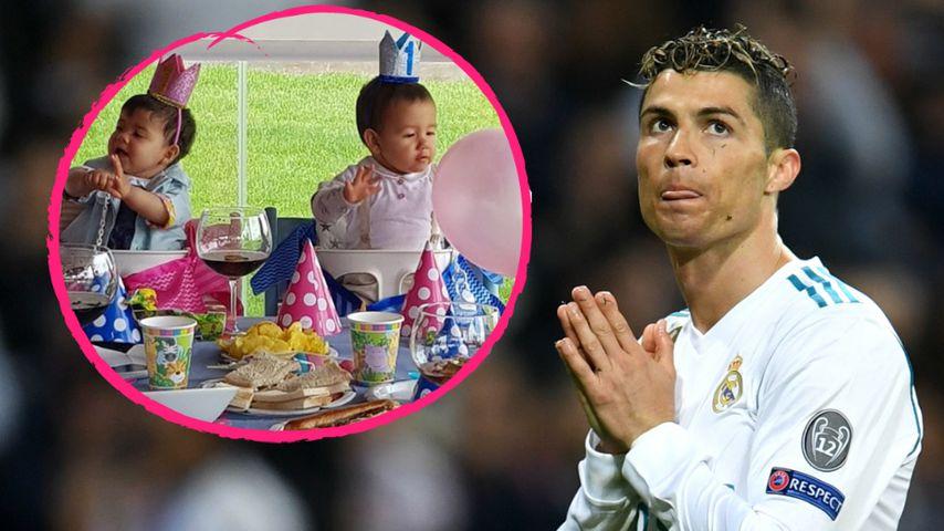 Supersüß: Ronaldo-Twins feiern große Party zum ersten B-Day!