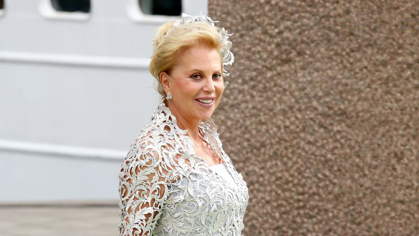 Eva O'Neill bei der Hochzeit ihres Sohnes Chris und Prinzessin Madeleine