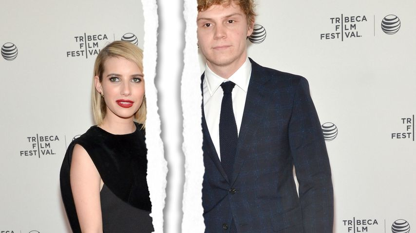 Emma Roberts und Evan Peters