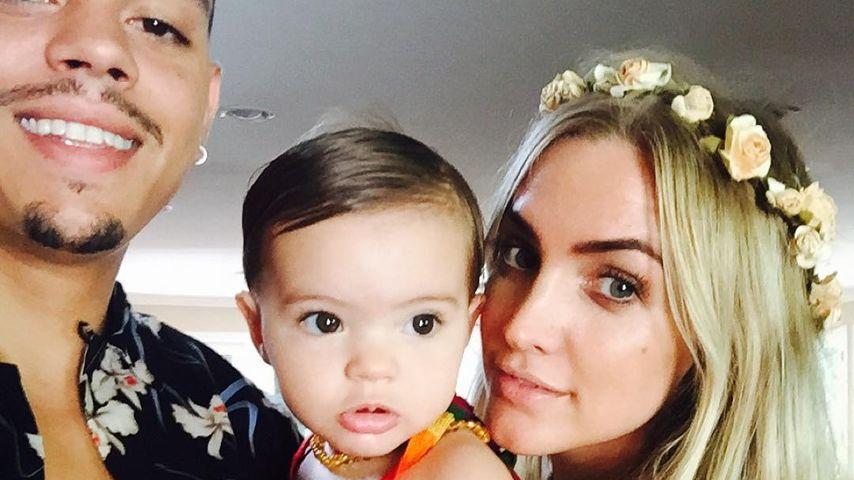 Evan Ross und Ashlee Simpson mit Töchterchen Jagger