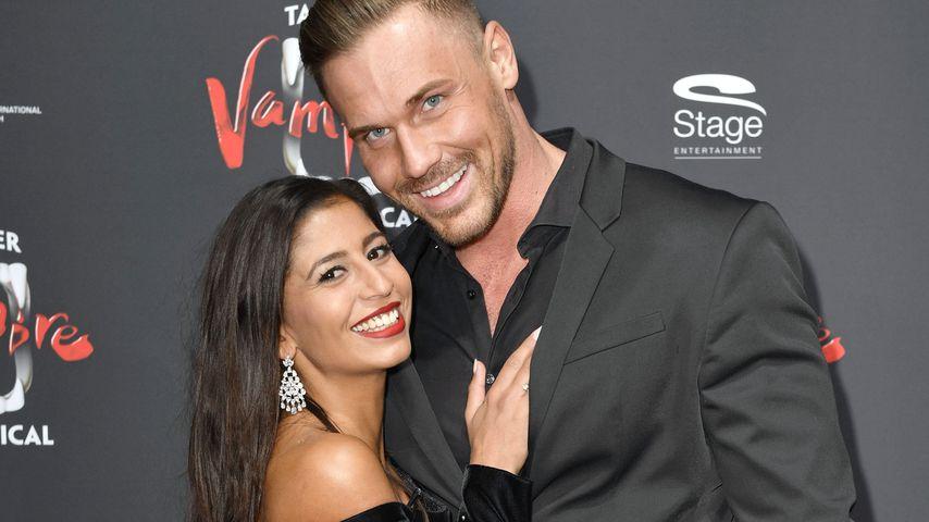 Evanthia Benetatou und ihr Freund Chris im Oktober 2019