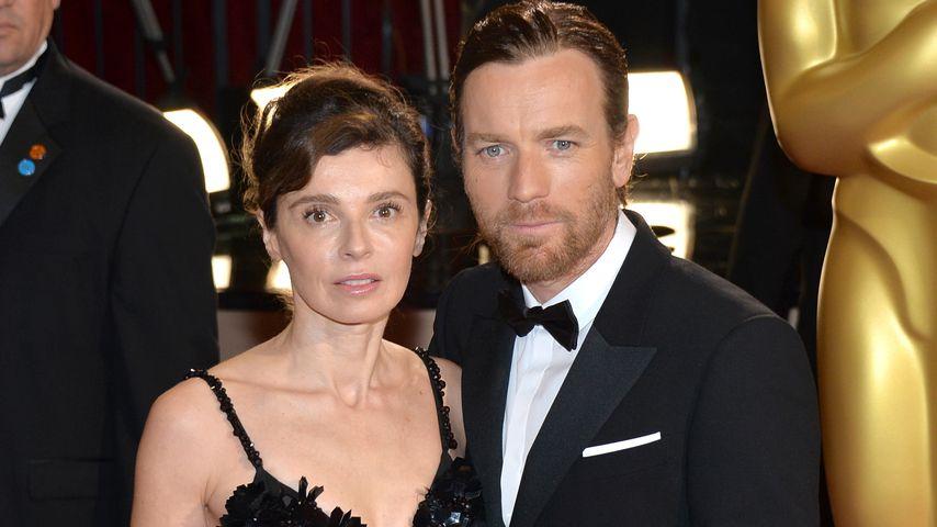 Eve Mavrakis und Ewan McGregor bei den Oscars 2014