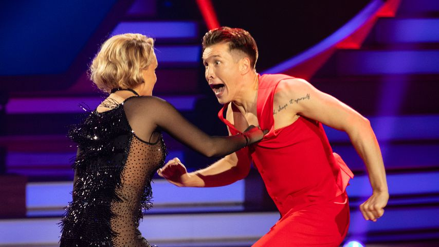 "Evelyn Burdecki and Evgeny Vinokurov bei ""Let's Dance"" 2019"
