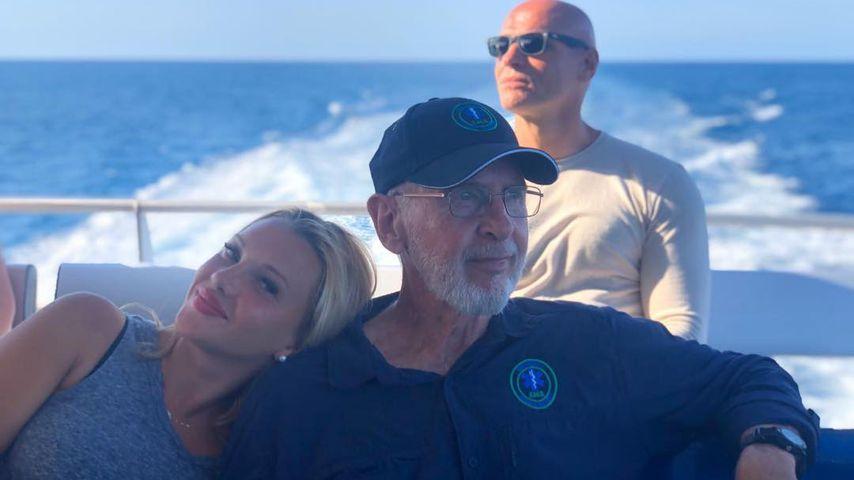 """Evelyn Burdecki, Dr. Bob und Thorsten Legat bei den Dreharbeiten zu """"Dr. Bob's Australien"""""""