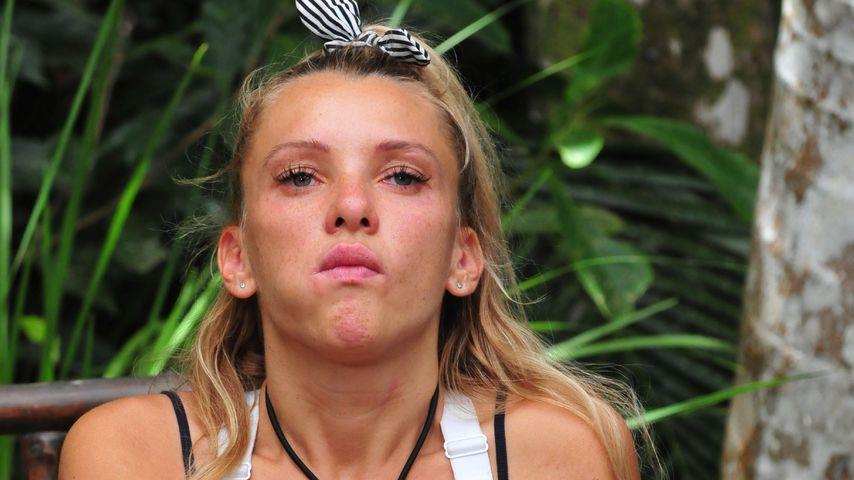 Evelyn Burdecki in der letzten Dschungelprüfung