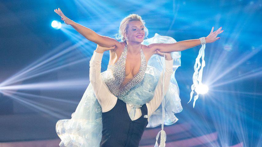 "Evelyn Burdecki und Evgeny Vinokurov in der zehnten ""Let's Dance""-Show, Mai 2019"