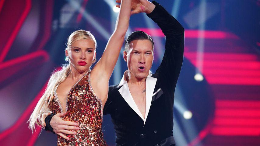 "Evelyn Burdecki und Evgeny Vinokurov bei ""Let's Dance"" 2019"