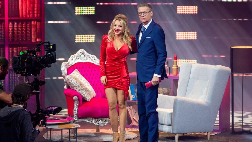 Evelyn Burdecki und Günther Jauch im Dezember 2019