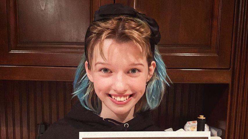 Ever Gabo Anderson, Tochter von Milla Jovovich, im März 2020