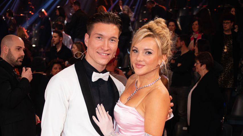 """Evgeny Vinokurov und Evelyn Burdecki bei """"Let's Dance"""", März 2019"""