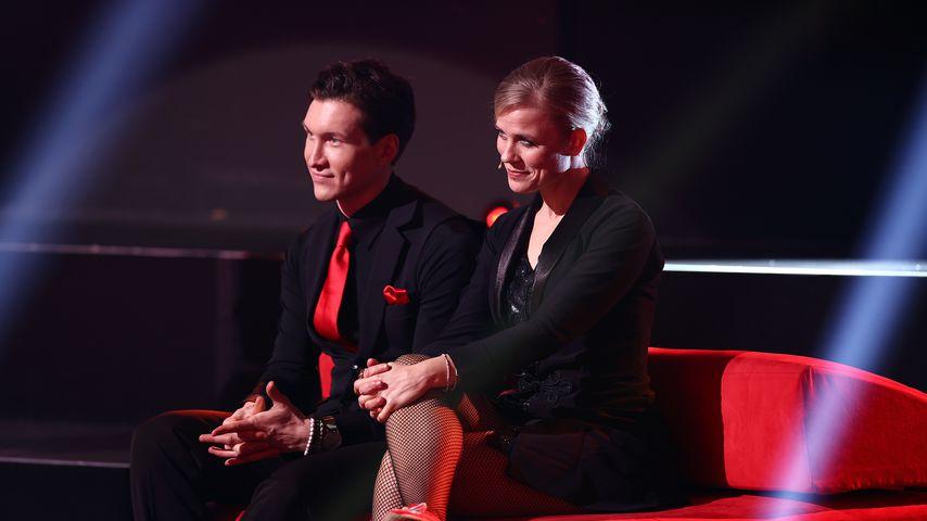 """Evgeny Vinokurov und Ilse DeLange, """"Let's Dance""""-Tanzpaar"""