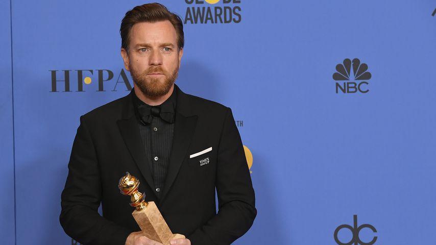 Ewan McGregor bei den Golden Globes 2018