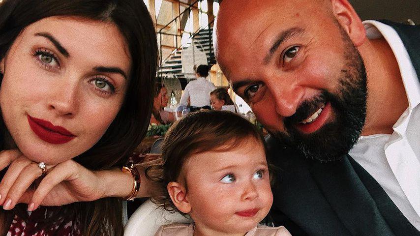 Ex-GNTM-Kandidatin Ira Meindl mit ihrer Familie