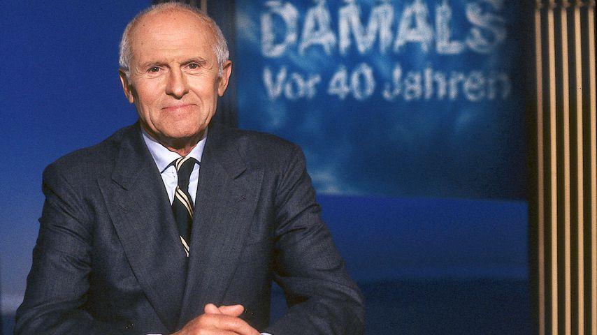 """Mit 92 Jahren: Erster ZDF-""""heute""""-Moderator ist gestorben!"""