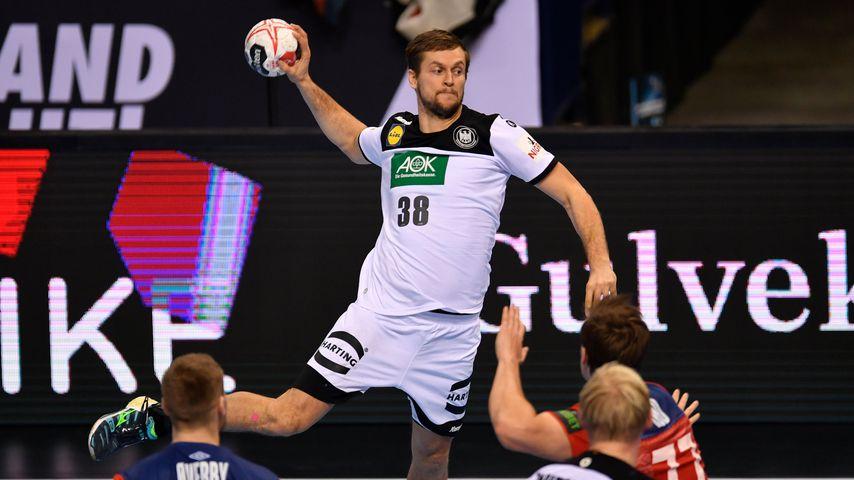 Fabian Böhm beim WM-Halbfinale