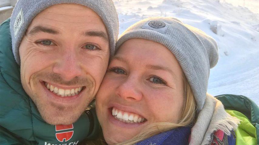 Fabian Rießle und seine Freundin Sandra Ringwald, Wintersportler