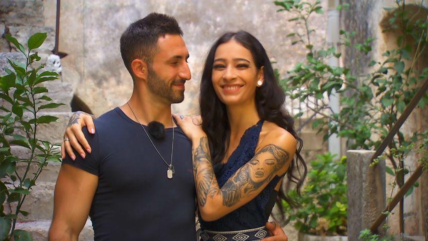 "Fabio De Pasquale und Shirin Mauch bei ""Temptation Island"""