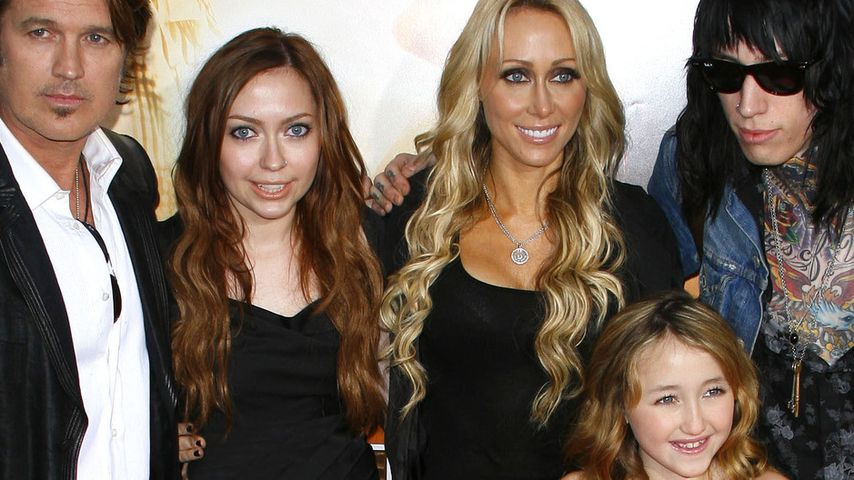Miley Cyrus, Billy Ray Cyrus und Trace Cyrus
