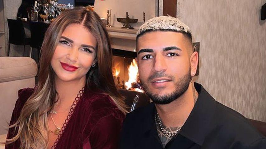 Farina Opoku alias Novalanalove mit ihrem Mann Pouya