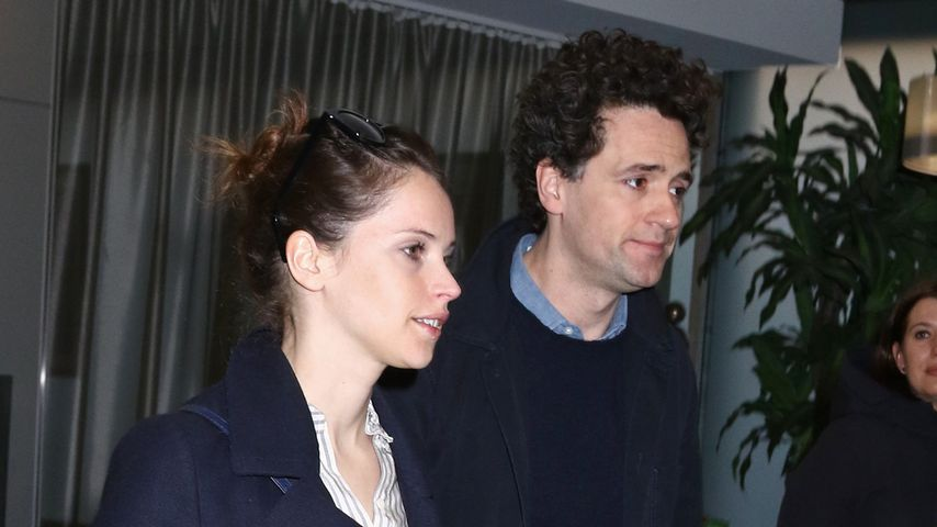 Felicity Jones und Charles Guard in New York