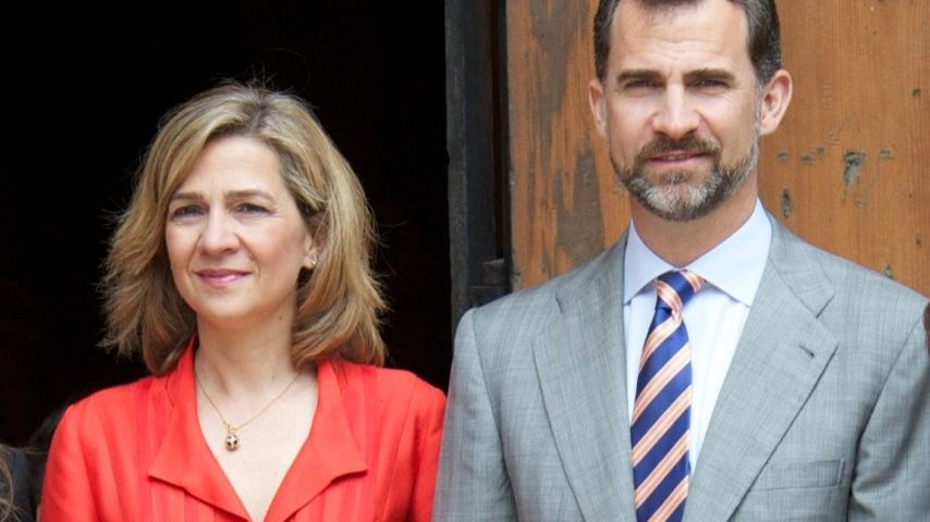 König Felipe entzieht seiner Schwester den Adelstitel!