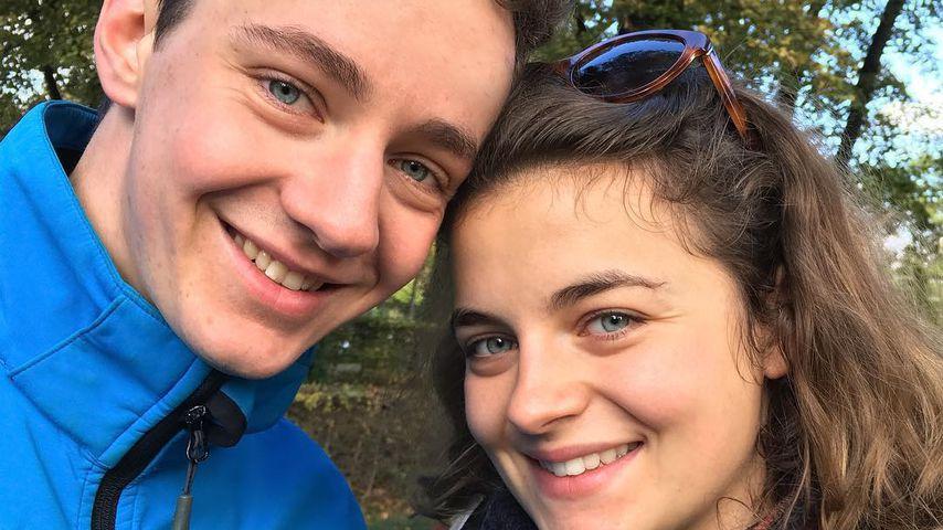 Felix Briegel und Ronja Forcher im Jahr 2016