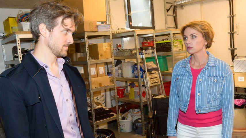 Felix (Thaddäus Meilinger) und Yvonne (Gisa Zach) bei GZSZ