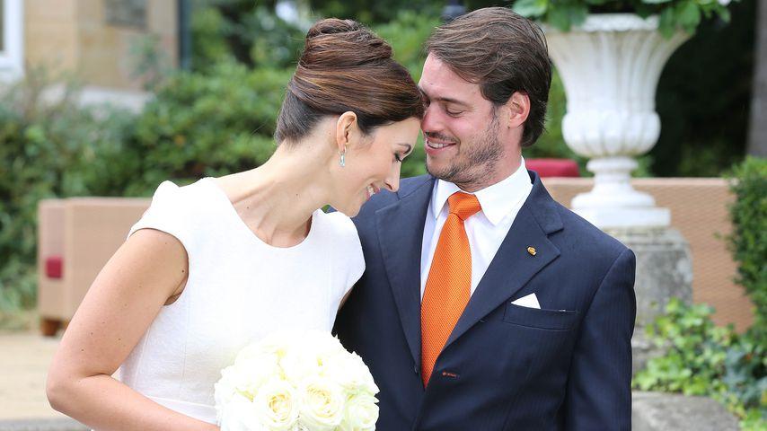 Claire & Félix von Luxemburg: So heißt ihr kleiner Prinz!