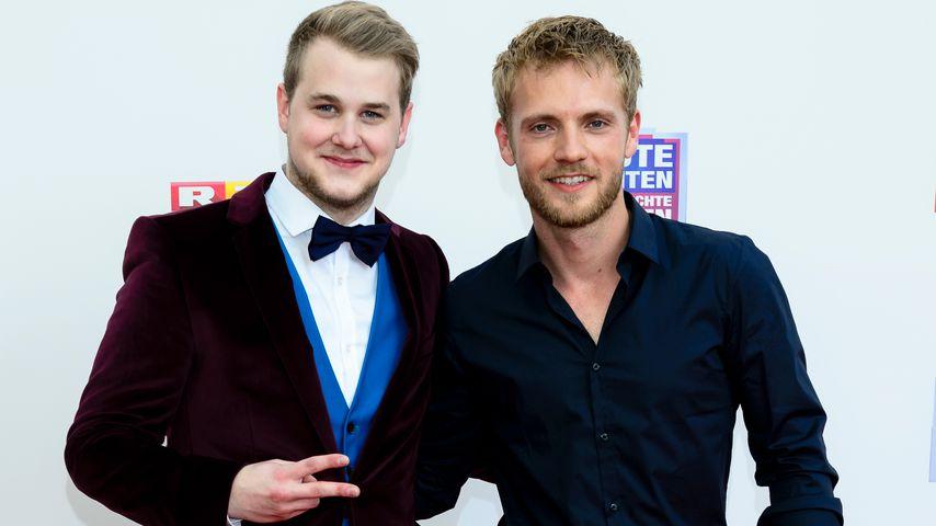 Felix van Deventer und Niklas Osterloh