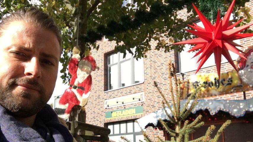 Zurück am GZSZ-Set: Felix von Jascheroff feiert Weihnachten!
