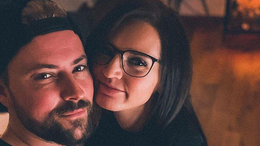 Felix von Jascheroff und seine Freundin Sophie im Januar 2021