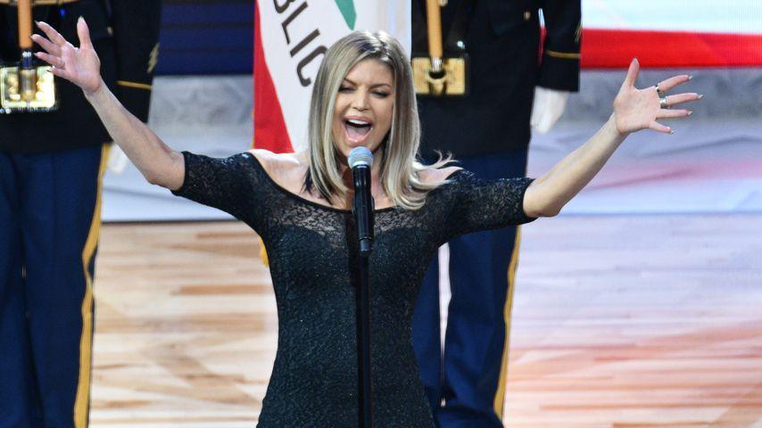 Fergie im Februar 2018