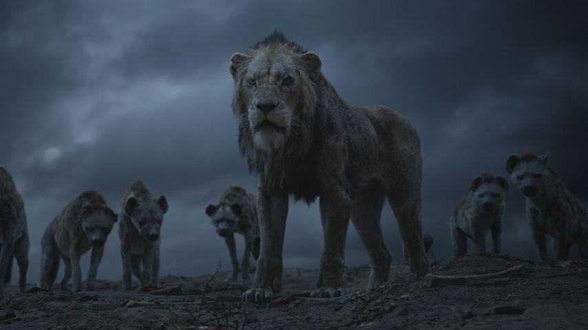 """Scar und die Hyänen im Disney-Remake """"Der König der Löwen"""""""
