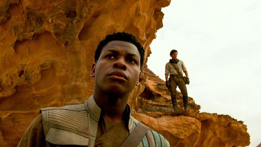"""Finn (John Boyega) und Poe Dameron (Oscar Isaac) in """"Star Wars: Der Aufstieg Skywalkers"""""""