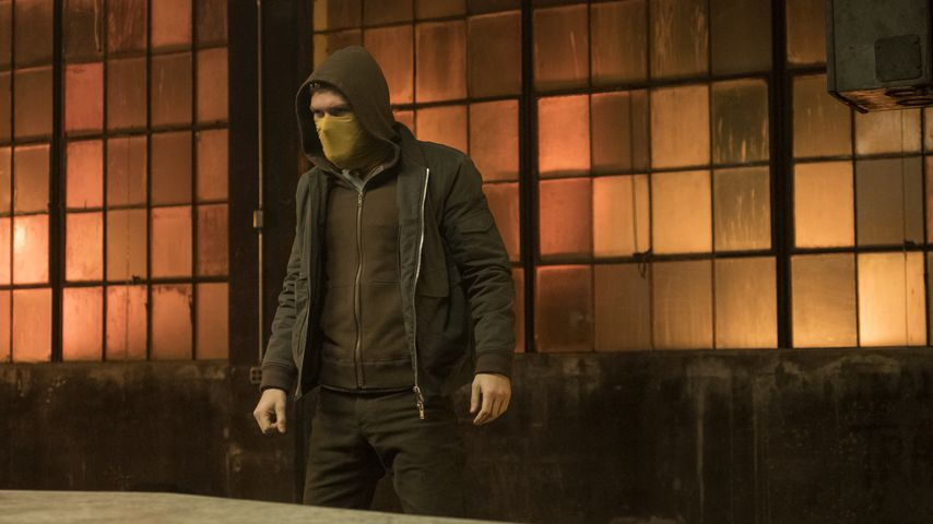 "Finn Jones in der Marvel-Serie ""Iron Fist"""