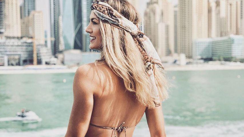 Fiona Erdmann in Dubai