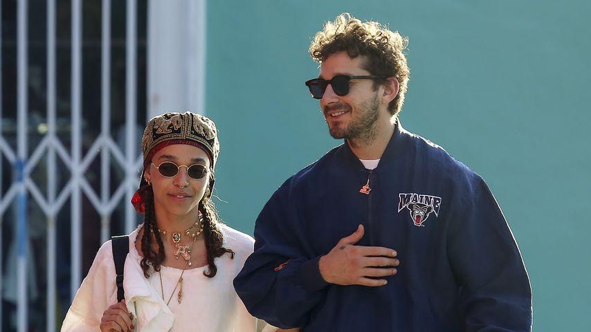 FKA Twigs und Shia LeBeouf in Los Angeles