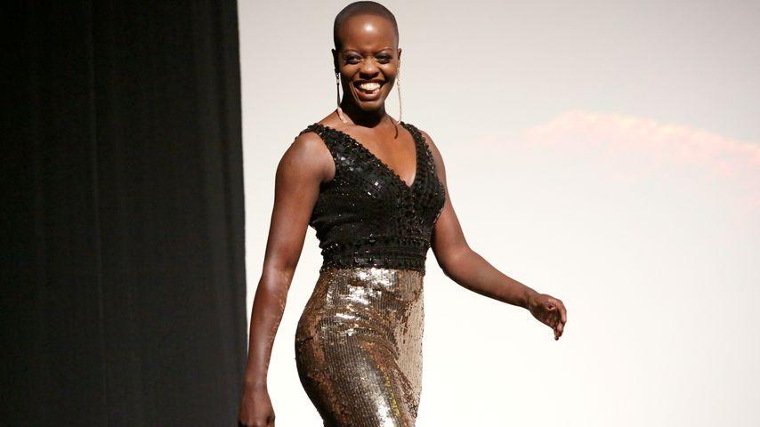 """Florence Kasumba bei der Weltpremiere von """"Der König der Löwen"""" in Hollywood"""