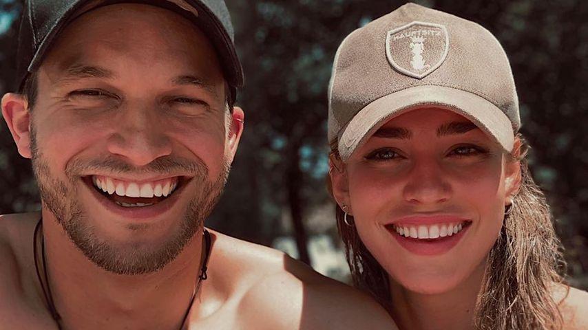 Florian Frowein und Livia Mischel am Ammersee, Juli 2020