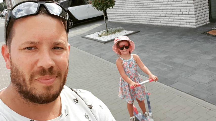 Florian Köster mit Tochter Celina