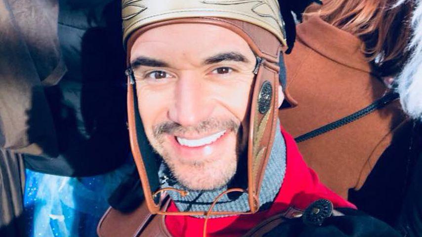 Trotz Helenes Krankheit: Florian feiert munter Karneval!