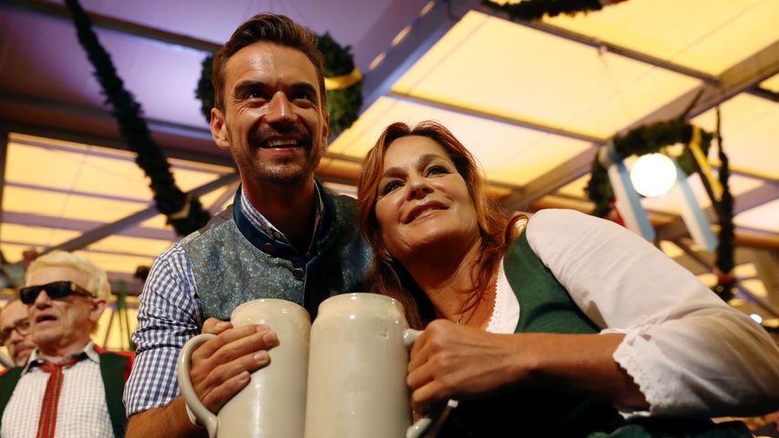 Florian Silbereisen und Andrea Berg in München