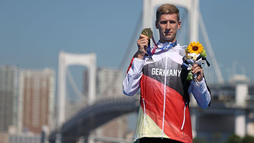 Florian Wellbrock, Olympiasieger im Schwimmen