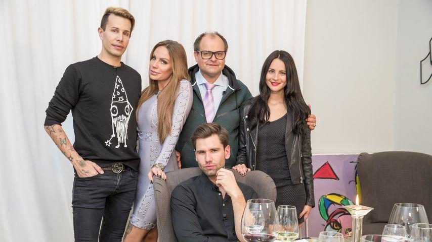 "Florian Wess, Gina-Lisa Lohfink, Markus Majowski, Alexander ""Honey"" Keen und Nicole Mieth"