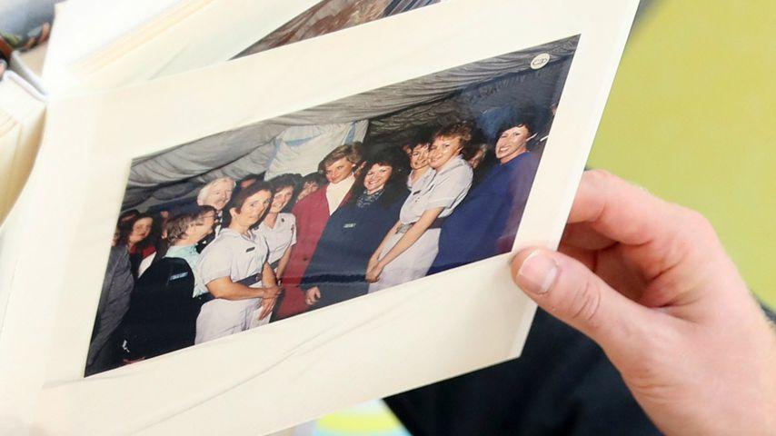 Fotografie von Prinzessin Diana im Kinderkrankenhaus Sheffield