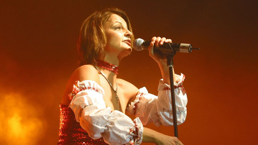 Fräulein Menke bei einem Konzert im März 2003